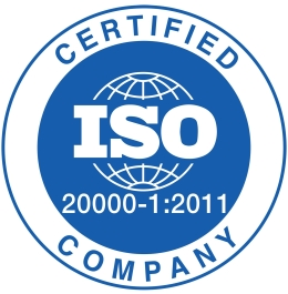 ISO 20000-1:2011 Certified Company
